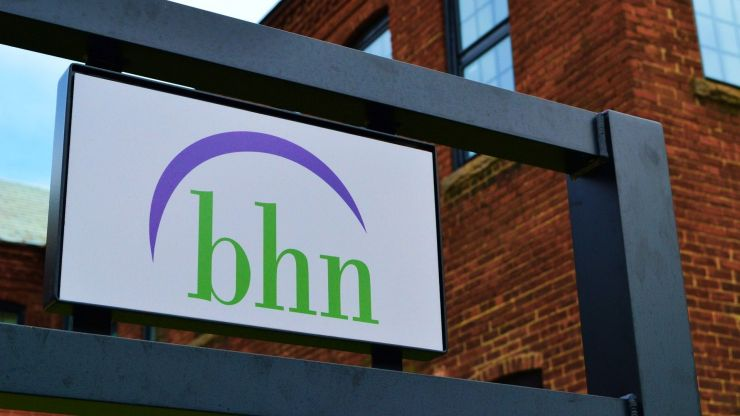 An image of the BHN sign on one of our many locations.